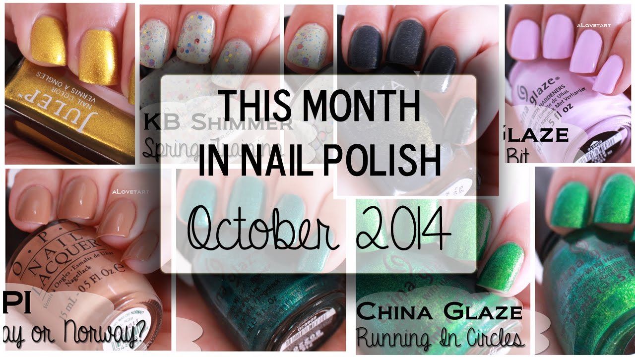 This Month In Nail Polish October 2014 Review