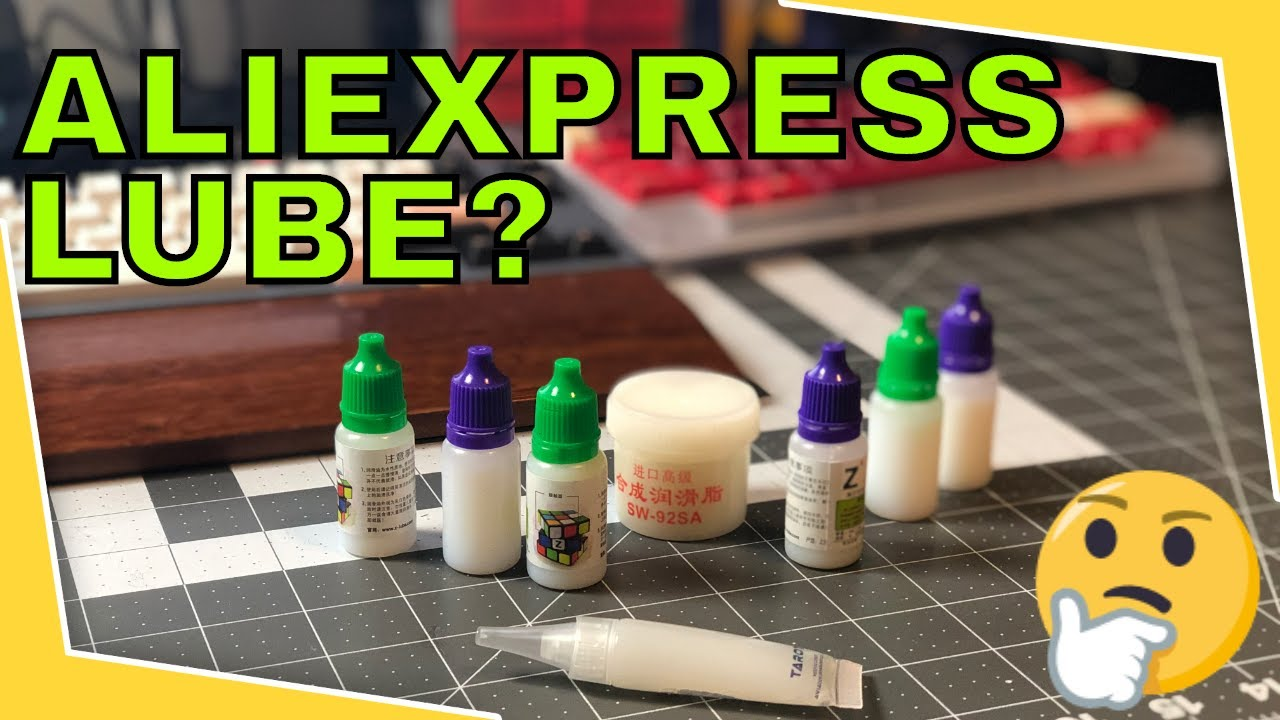 AliExpress Lube: Can we replace Krytox already?