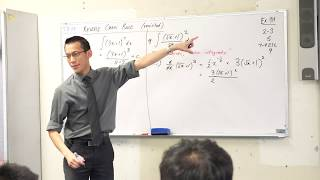 "Reverse Chain Rule (1 of 3: Standard questions, ""Differentiate » integrate"" questions)"