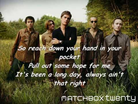 Matchbox Twenty - Long Day (with lyrics)