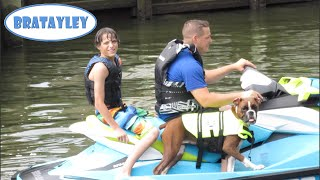 Dog on a Jet Ski (WK 232.5) | Bratayley