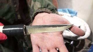 Убойный тест клинка из стали, ушедшей в историю + дополнение к тесту клинка из ШХ-15