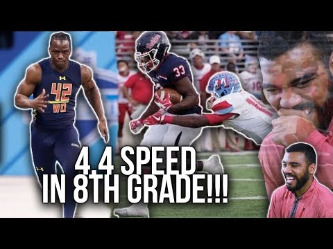 The Fastest 8th Grader In The Country!?!- Ke'ori Hicks Highlights Reaction