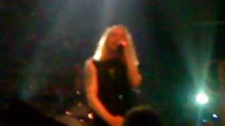 Paradise lost live in athens 2009 Embers fire