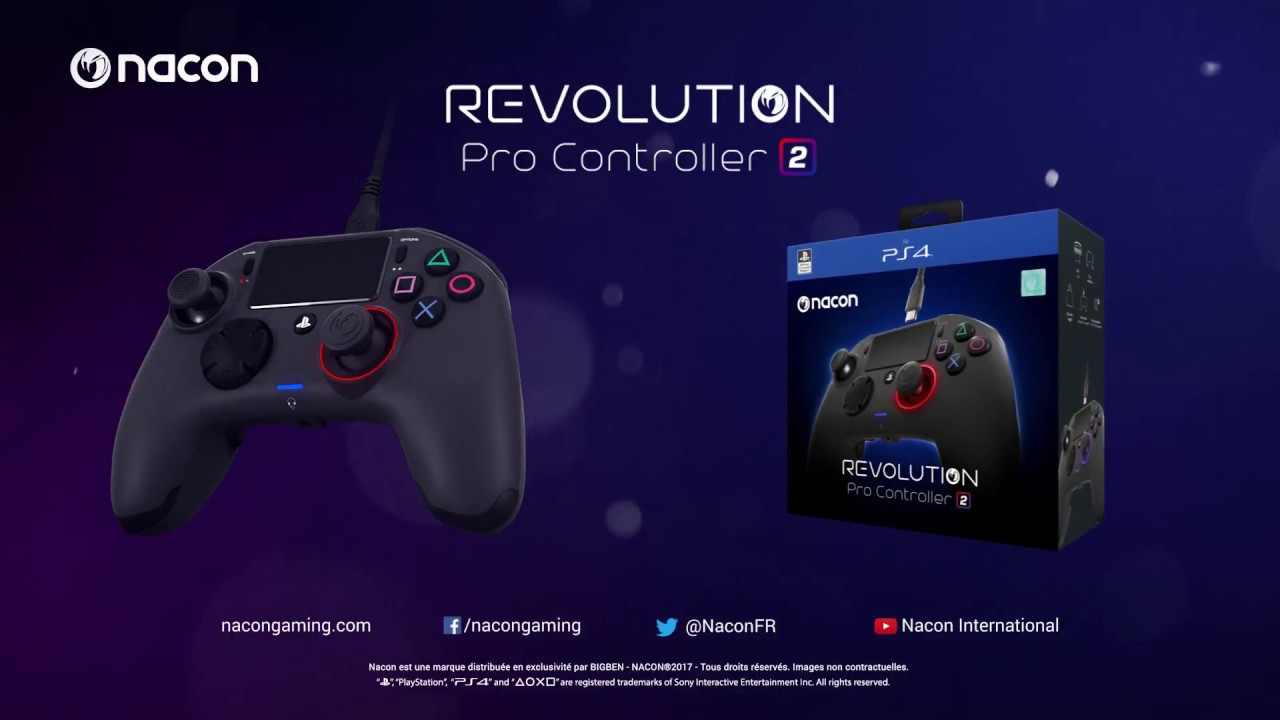 Revolution Pro Controller 2 For Playstation 4 Nacon