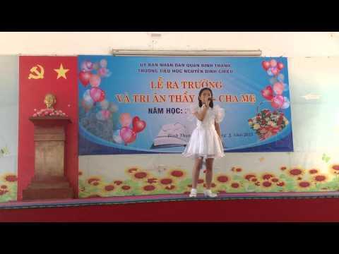 """Múa """"Thương con mẹ yêu"""" HS tiểu học Nguyễn Đình Chiểu Q.Bình Thạnh"""