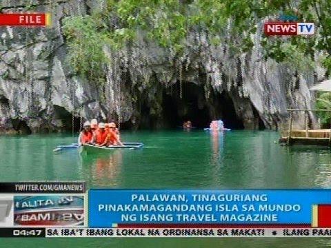 Palawan, tinaguriang pinakamagandang isla sa mundo ng isang travel magazine