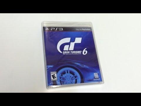 Gran Turismo 6 Unboxing!