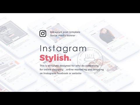 instagram photo template