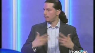 Intervista Giuliano in Toscana Tv. Promozione International Dance festival