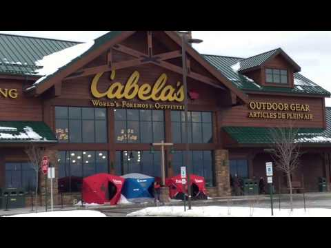 Shopping at Cabelas for Solar