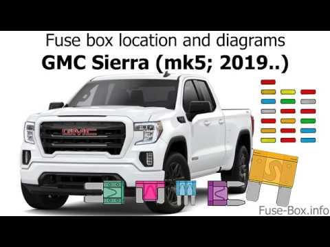 gmc sierra fuse box location fuse box location and diagrams gmc sierra  mk5  2019   youtube 2015 gmc sierra fuse box location fuse box location and diagrams gmc