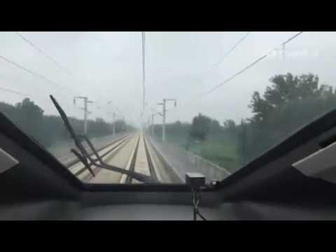 China CRH testing at 420km/h