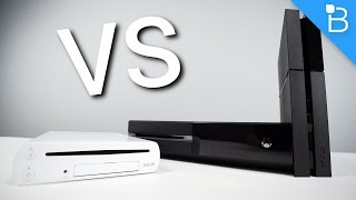 Console Wars: Xbox One vs PS4 vs Wii U (Round 4)