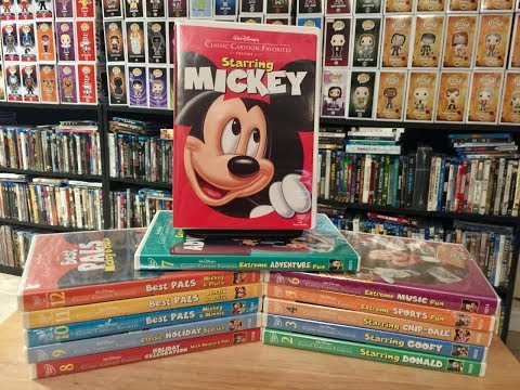 My Disney Classic Cartoon Favorites DVD Collection