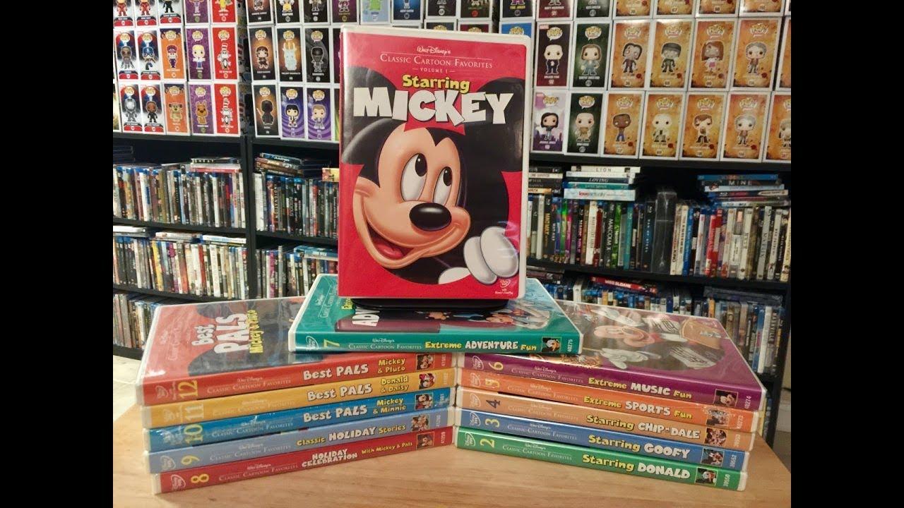 walt disney classic cartoon favorites gift set vols. 1-7