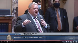 Senate Passes Housing Finance Bill / Legacy Appropriations