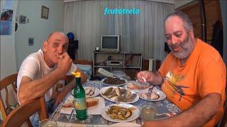 Μπαμπινος και Νικολακης.Γοπες τηγανιτες με ''Το Κρασι της Παρεας''!