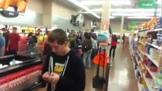 Walmart Black Friday Video game sale organized much better no fighting 2012
