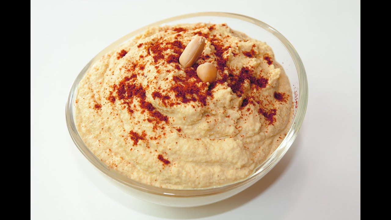 hummus ala hilton humus rezept mit wenig fett selber machen youtube. Black Bedroom Furniture Sets. Home Design Ideas