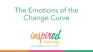 The Emotions of the Change Curve