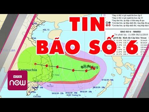 Tin Mới Nhất Về Cơn Bão Số 6 Sắp đổ Bộ | Tin Tức Việt Nam Mới Nhất | TT24h