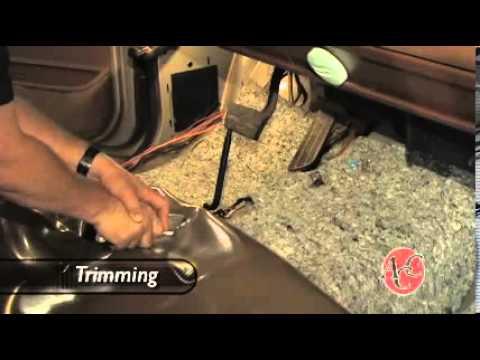 Truck Vinyl Flooring Installation Video Youtube