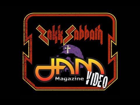 "ZAKK SABBATH ""Supernaut"" Gas Monkey Live Dallas Texas 2017 JAM Magazine"