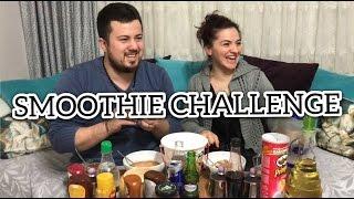 SMOOTHİE CHALLENGE (Ne Varsa Karıştırıp İçtik)