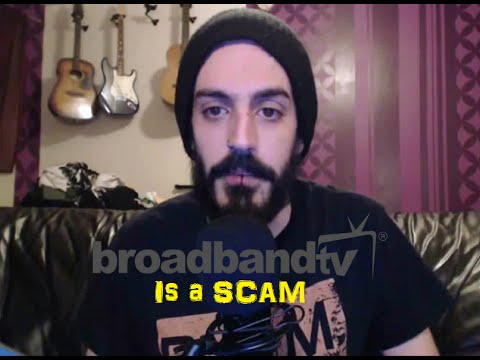 BROADBAND TV IS A SCAM!!!! YOUTUBE NETWORK FALSELY CLAIMS CHANNEL
