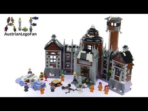 Lego Batman Movie 70912 Arkham Asylum - Lego Speed Build Review