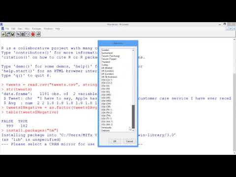 5.2.8 An Introduction To Text Analytics - Video 5: Pre-Processing In R