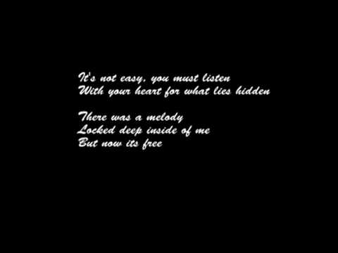 The Melody Within - Karaoke Instrumental   Lyrics