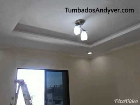 Techos de gypsum con dise o guayaquil bellavista youtube for Techos en drywall modernos