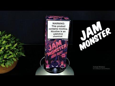 Jam Monster Mixed Berry Eliquid Review