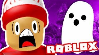I BROKE into a haunted MANSION in ROBLOX! 👻 → Roblox funny moments #58 🎮