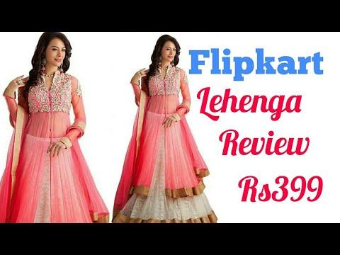 d5a23a62b Flipkart Lehenga review    flipkart online shopping haul and review ...