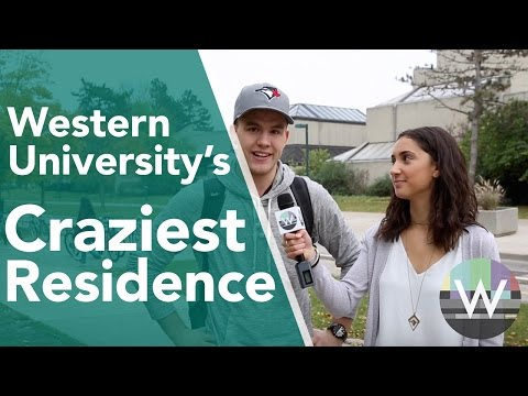 Craziest Western University Residence