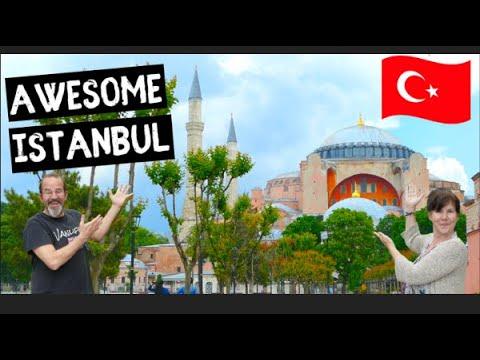 ISTANBUL Travel Vlog | Grand Bazaar & Hagia Sophia
