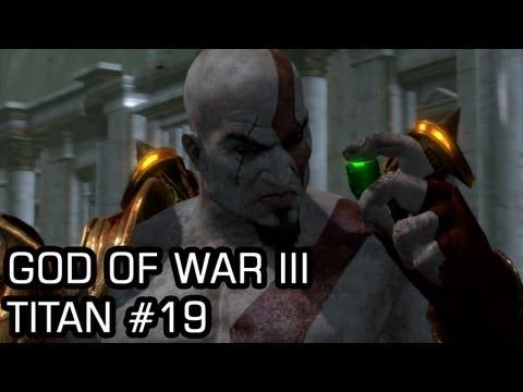 God of War III (Titan,PS3) #19 Caverns' Hidden Passageway, The Caverns