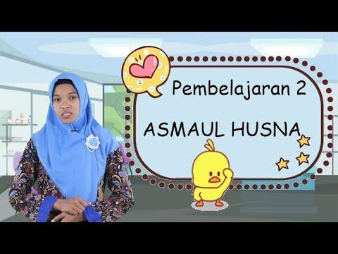 """Video Pembelajaran Akidah Akhlak Kelas 4 Materi """"Asmaul Husna"""""""