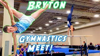 Bryton's First Gymnastics Meet on Youtube!