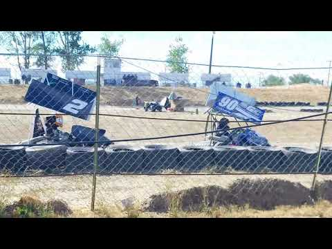250f Outlaw Kart racing   Sandhollow Raceway Park Tator Cup night 2    9/24/17