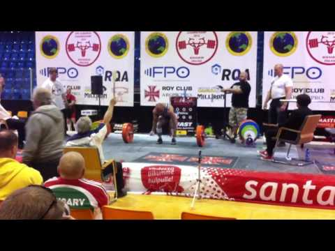 Zia Mirza new world record 180kg in Finland European championship (Wellbeing)