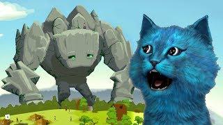 СИМУЛЯТОР БОГА - REUS #1 КОТЁНОК ЛАЙК кот играет в игры