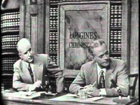 LONGINES CHRONOSCOPE WITH ROBERT MOSES