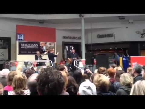 Damien Dempsey performs in Connolly Station