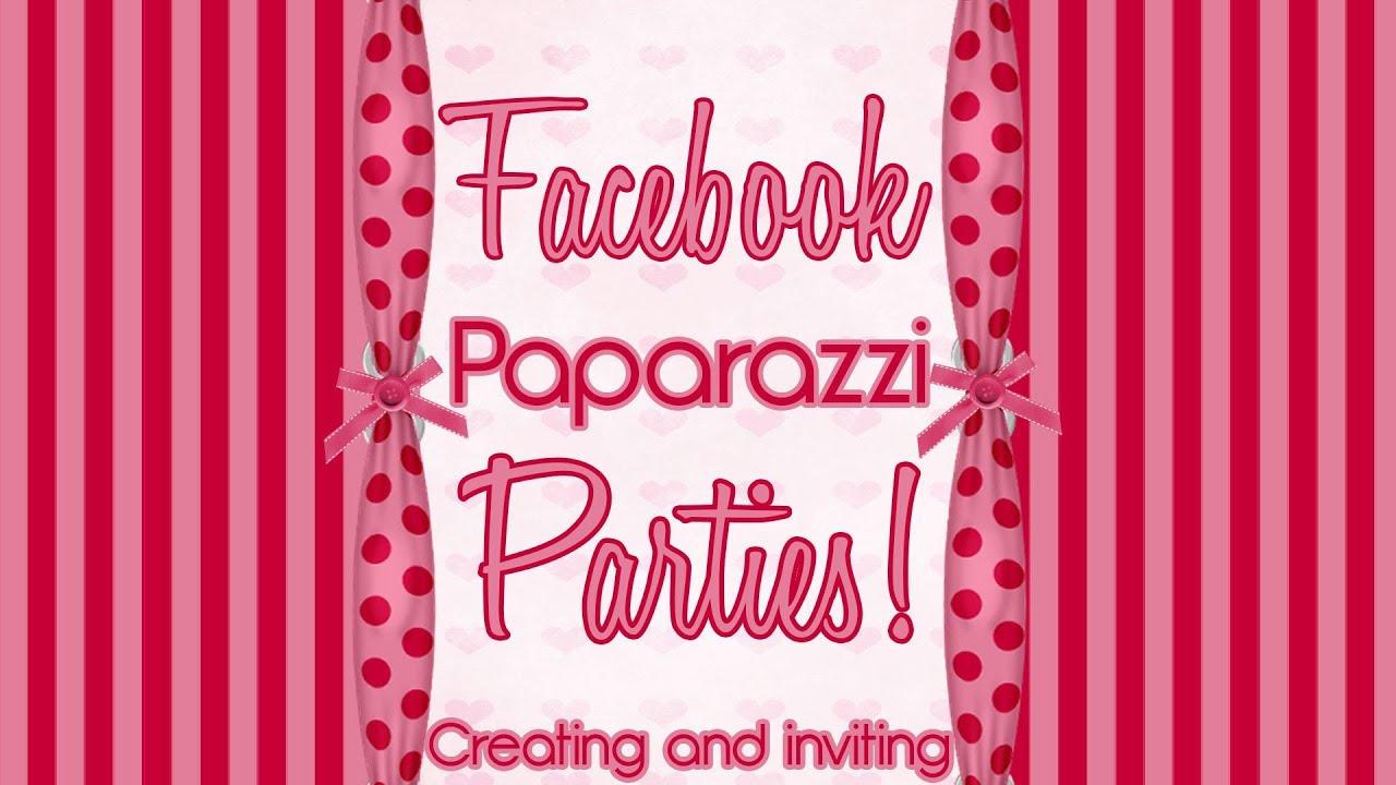 How to Create a Event Send MASS Invites Paparazzi $5