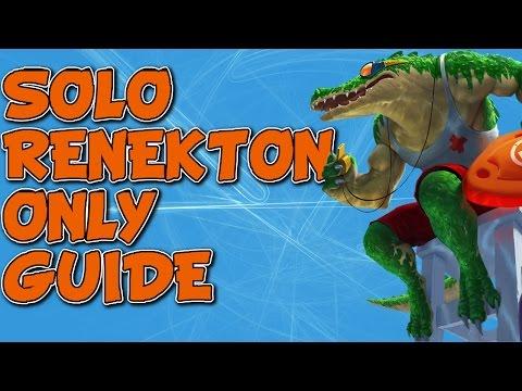 SoloRenektonOnly's GUIDE TO MASTERING RENEKTON TOP SEASON 6 (LEAGUE OF LEGENDS)