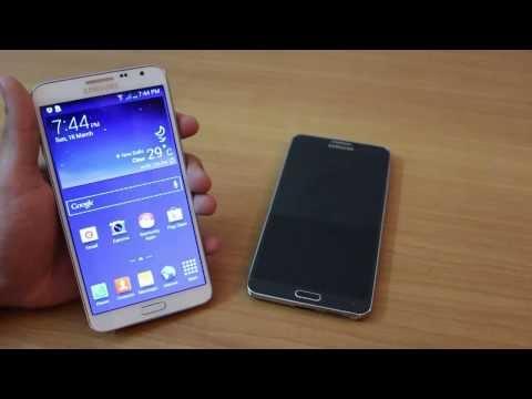 Galaxy Note 3 Neo vs Note 3 - HD Video